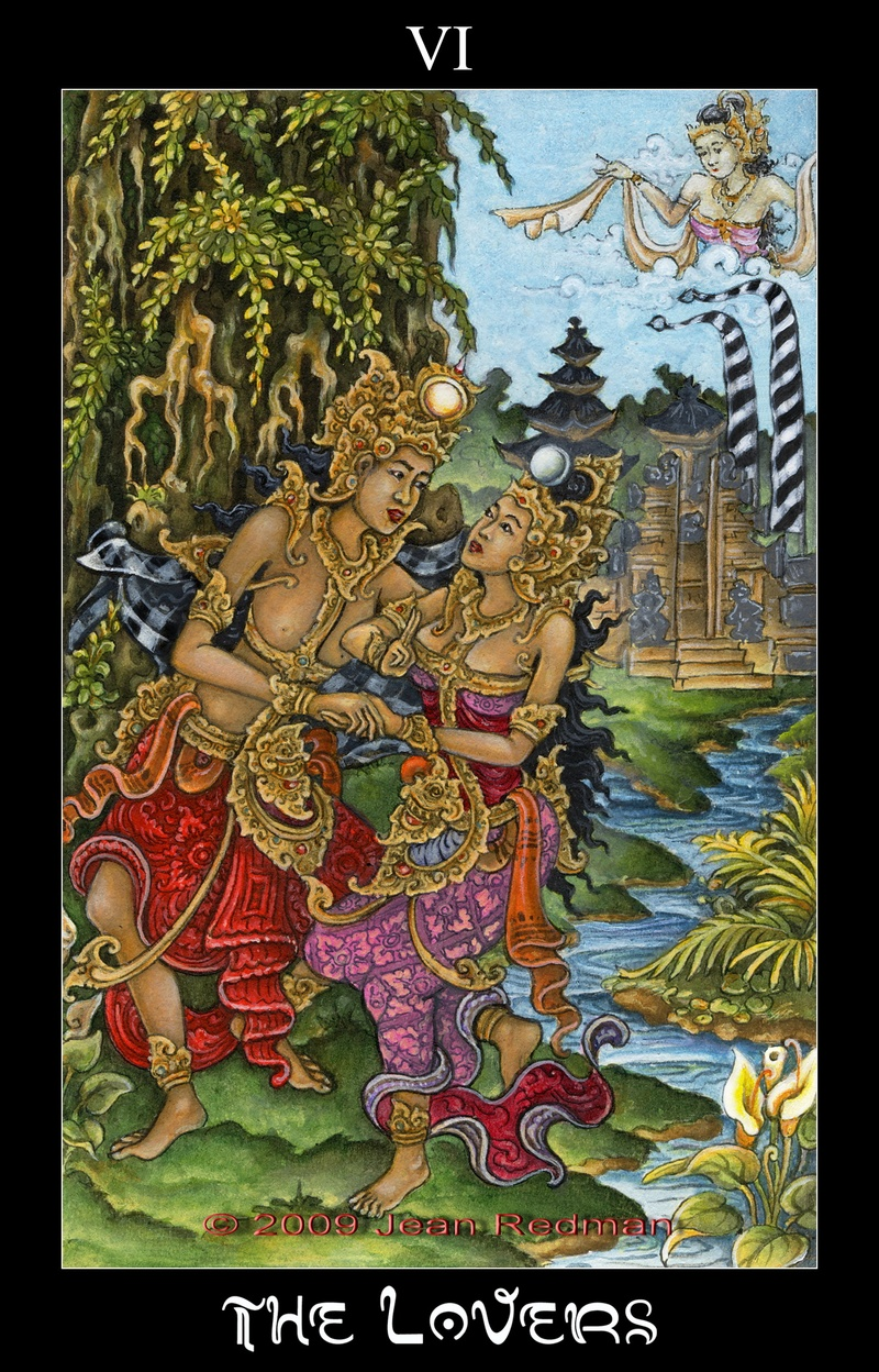 The Creation Of The Bali Tarot Deck
